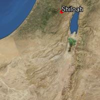 Map of Shiloah