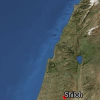 Map of Shiloh