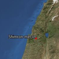 (Map of Shimron-meron)