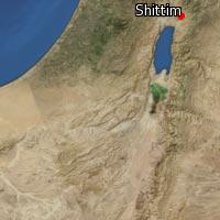 (Map of Shittim)