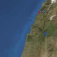 Map of Sidon