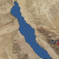 (Map of Sinai)