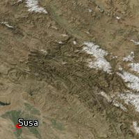 Map of Susa