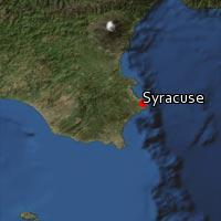 (Map of Syracuse)