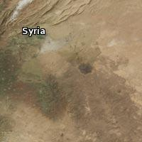 (Map of Syria)
