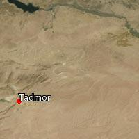 Map of Tadmor