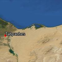Map of Tahpanhes
