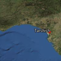 Map of Tarshish