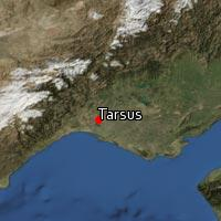 Map of Tarsus