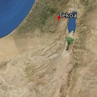 (Map of Tekoa)