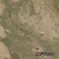 Map of Tel-harsha