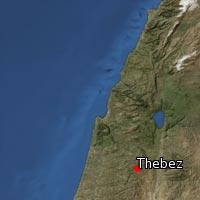 (Map of Thebez)