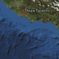 (Map of Three Taverns)