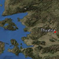 Map of Thyatira