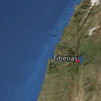 (Map of Tiberias)