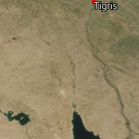 Map of Tigris