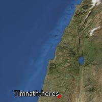 (Map of Timnath-heres)