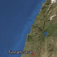 (Map of Timnath-serah)