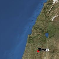 Map of Tirzah