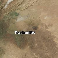 Map of Trachonitis