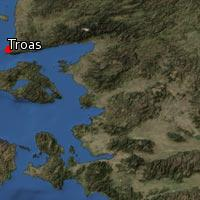 Map of Troas