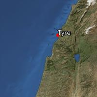 (Map of Tyre)