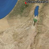 Map of Uzzen-sheerah