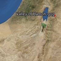 Map of Valley of Hamon-gog