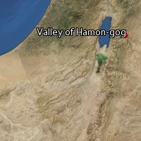 Map of Valley of Hamon-gog