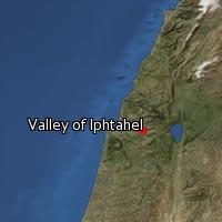 (Map of Valley of Iphtahel)