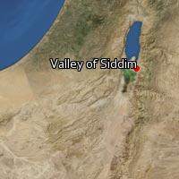 Map of Valley of Siddim