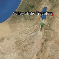 Map of Valley of the Travelers