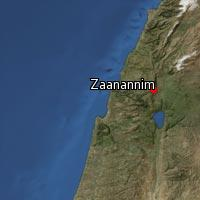(Map of Zaanannim)