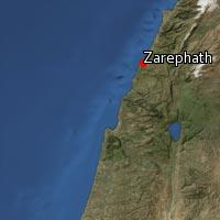 Map of Zarephath