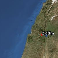 Map of Ziddim