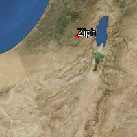 Map of Ziph (1)