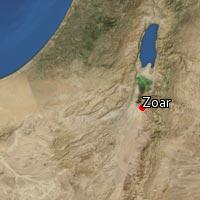 Map of Zoar