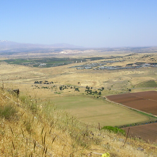 panorama of a plain in Syria 1