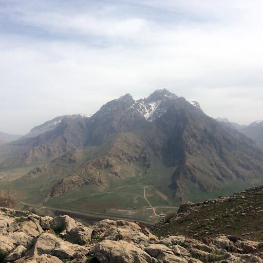panorama of a mountain in Gutium