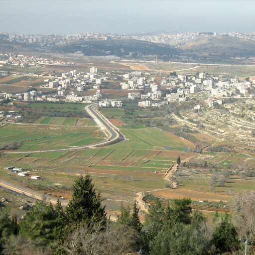 panorama of the Valley of Gibeon