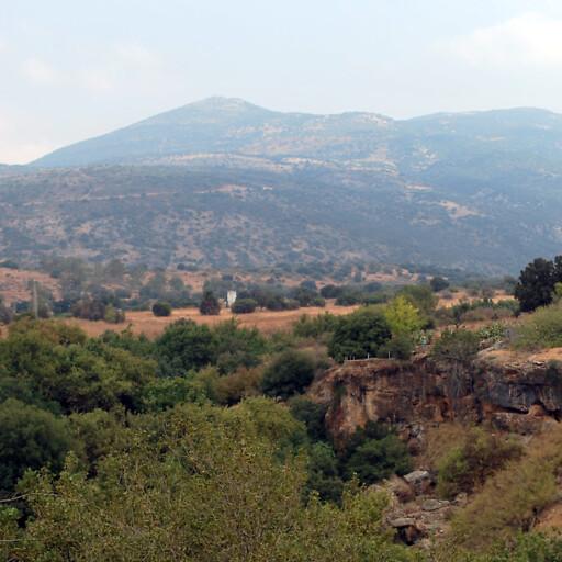 panorama of hills in Ituraea