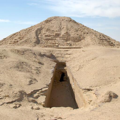 pyramid at El-Kurru in Ethiopia
