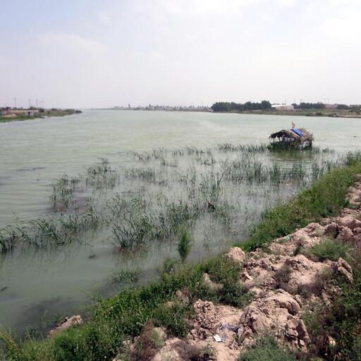 panorama of a river in Sutu