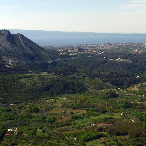 panorama of a coastline in Illyricum