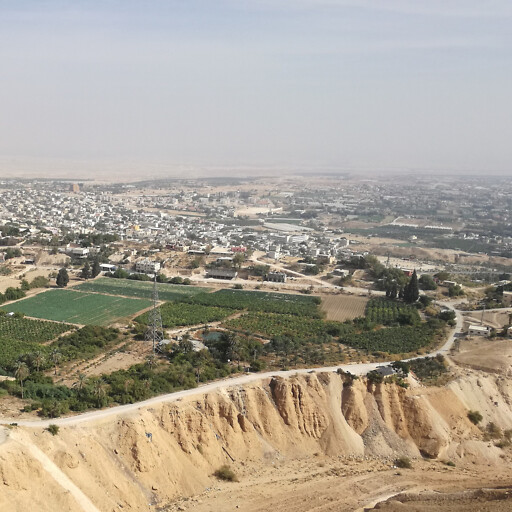 panorama of the Valley of Jericho