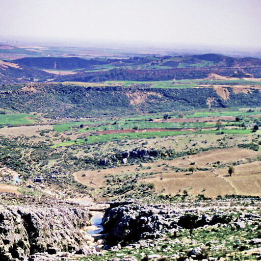 panorama of hills in Cilicia