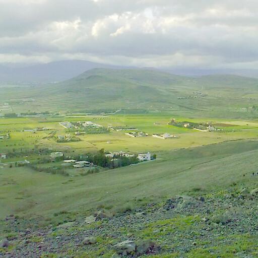 panorama of hills in Upu
