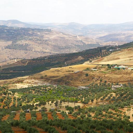 panorama of hills in Gilead 1