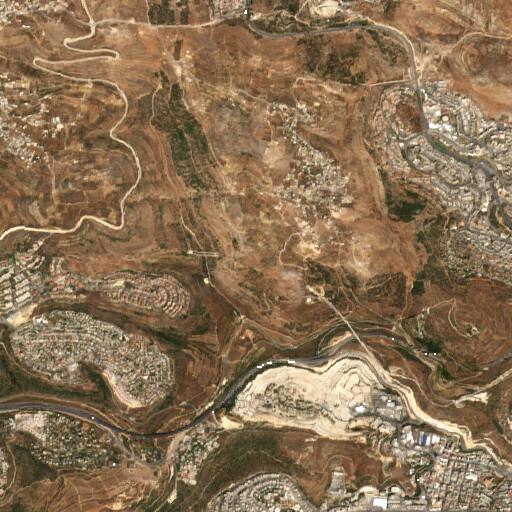 satellite view of the region around Feldstein et al Site 43