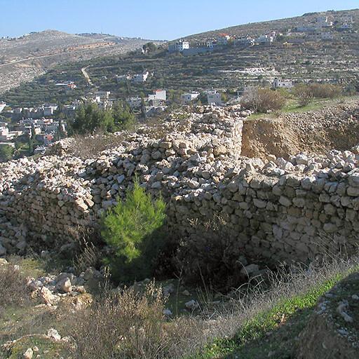 ruins at Khirbet al Yahud